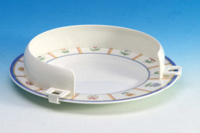 Plastic Plate Guard White