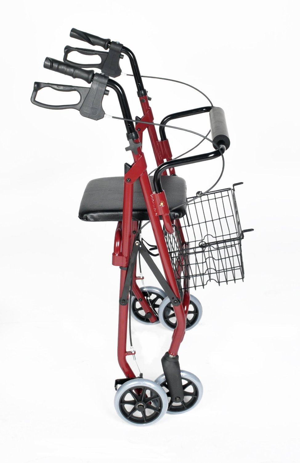 4 Wheel Walker With Cable Brakes Ability Assist