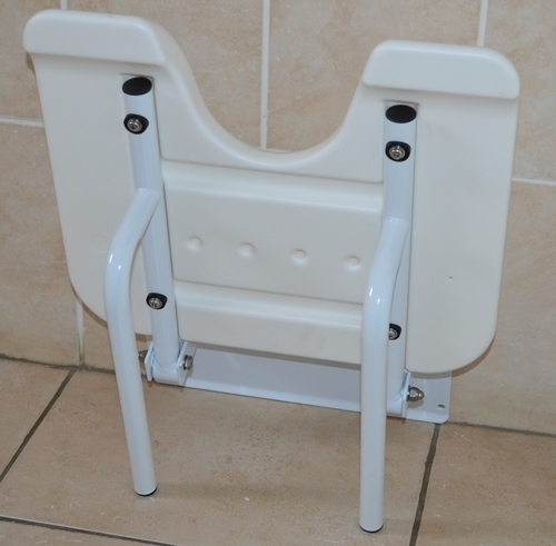 Wall Mounted Fold Up Shower Seat Ability Assist