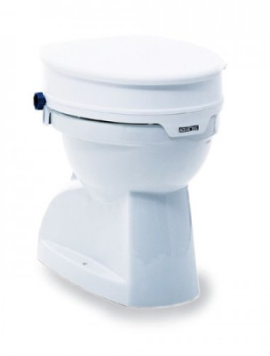 Bariatric raised toilet seat