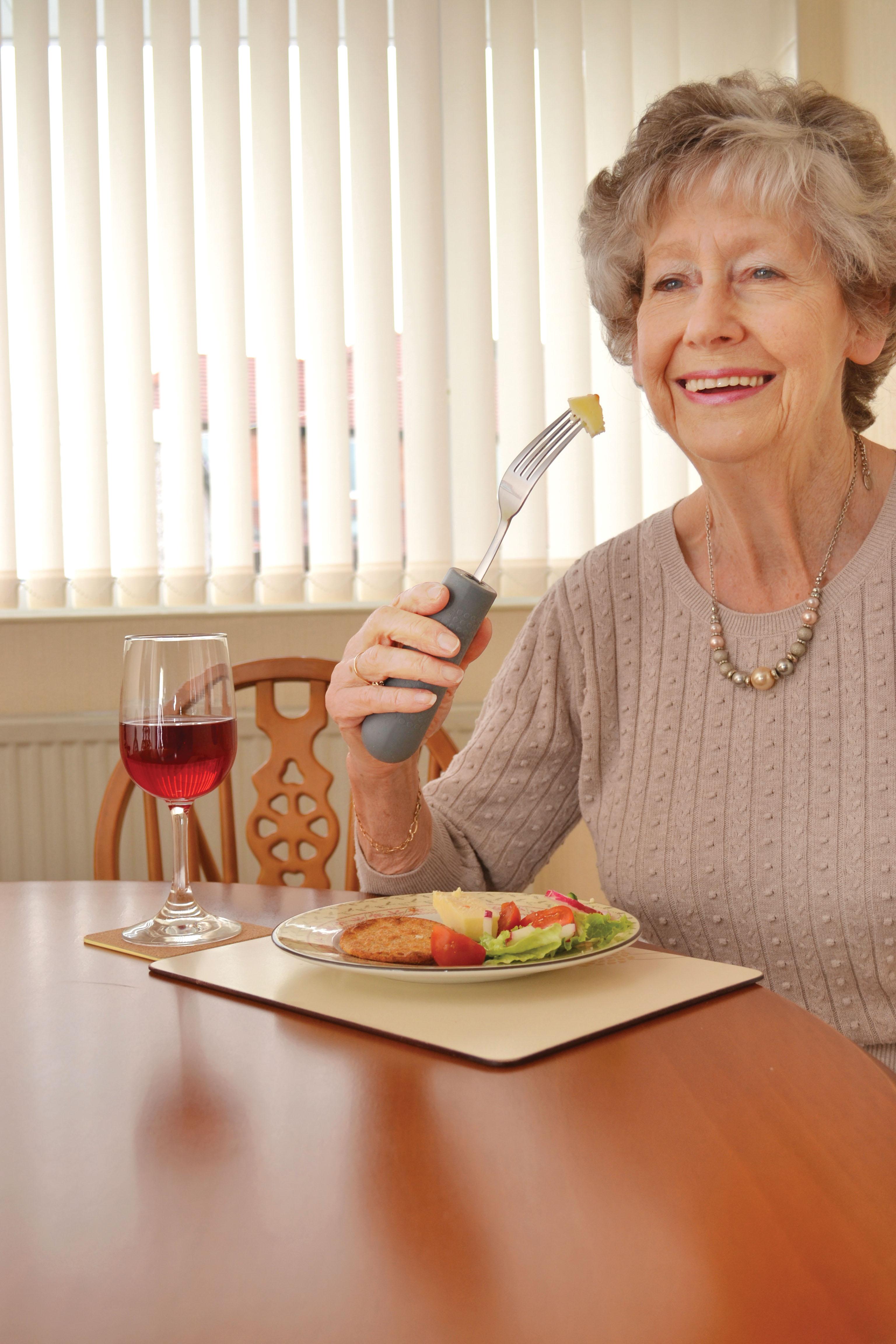 Tenura Anti Slip Cutlery Grips Ability Assist