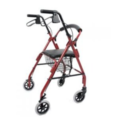 "4 Wheel Walker 6"" wheels LY-513B"