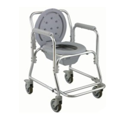 Aluminium Commode Shower Chair On Wheels ALK699L